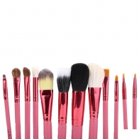 Pensule make-up Lila Rossa set 12 Roz